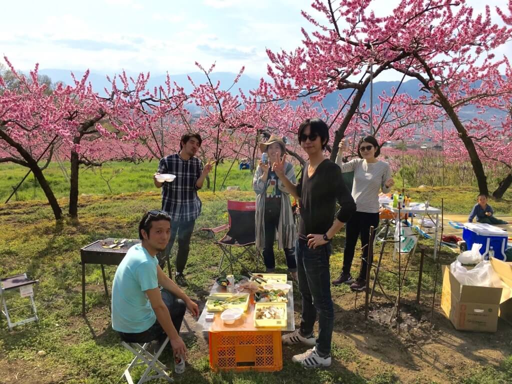 春。僕のはじまり、桃のはじまり物語。