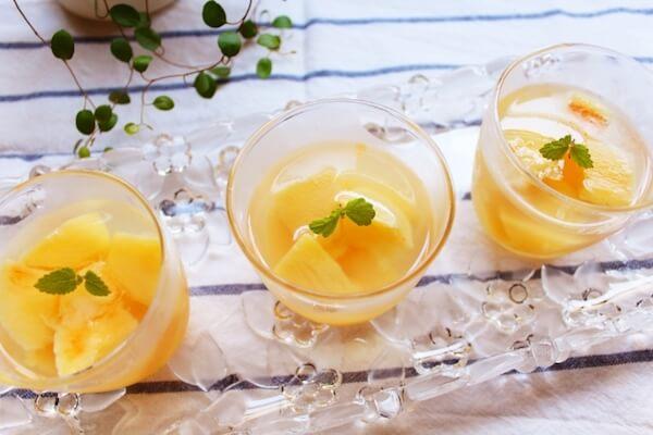 桃を食べきれなかったら試してみて!保存できるアレンジレシピ3つ